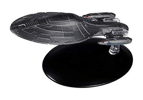 Eaglemoss gepanzerte U.S.S. Voyager (2378) Collection Modell - Star Trek die Offizielle Sammlung: Ausgabe #48 mit deutschem Magazin