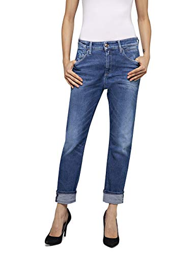 Replay Damen Marty Jeans, Blau (Medium Blue 9), No Aplica/L30 (Herstellergröße: 28)