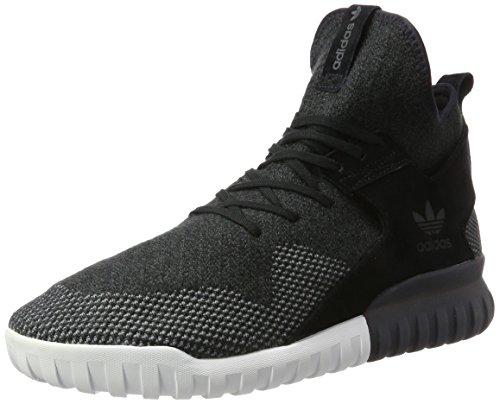 adidas Herren Tubular X Primeknit Hohe Sneaker, Schwarz (Core Black/Dark Grey/Ch Solid Grey), 49 1/3 EU