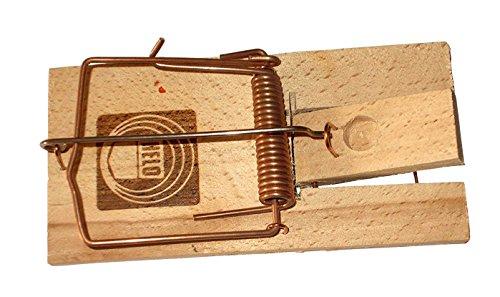 ERRO Piège à rat en bois - Piège à rats - Utile pour la maison