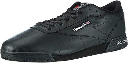 Reebok Ex-O-Fit Clean Logo INT, Men's Low-top Gymnastics Shoes, Black (Int-Black/Silver/Silver), 8 UK (42 EU)