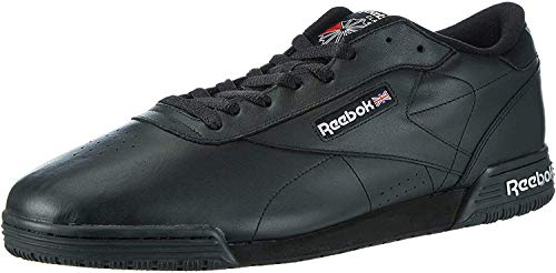 Reebok Exofit Lo Clean Logo, Zapatillas Para Hombre, Negro (AR3168_39 EU_Black/Silver/Silver), 42 EU