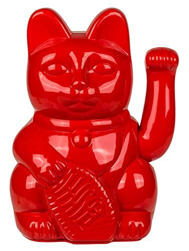 Gato Que Saluda, Rojo