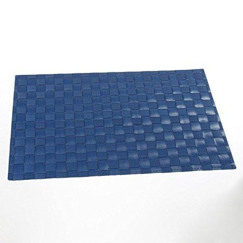 Set de Table Carrés - 45 x 30 cm - Bleu
