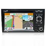 YUNTX PX6 Android 10 Autoradio Apta para Audi A4 /S4 /RS4/Seat Exeo (8E / 8H) - [4G+64G] - GPS 2 Din - Cámara Trasera&Canbus Gratis - Soporte DAB/Mandos de Volante/4G/WiFi/Bluetooth/MirrorLink/Carlink
