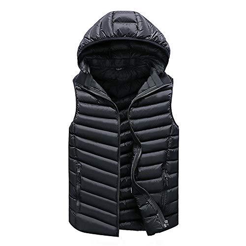 Mouwloos Jas Down Vest Warm Dikke Hooded Jassen Mannelijke 100% Katoen Vullen Heren Werk Taillejas Gilet Homme