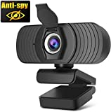 Innosinpo Webcam 1080P【2020 Autofokus Full HD Bussiness Webkamera mit Zwei Digitalen Mikrofonen USB Computerkamera für PC Laptop Desktop Mac Videoanrufe, Konferenzen über Skype YouTube
