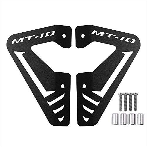 Ayouyue MT10 FZ10 Accesorios Aluminio Radiador Placa lateral Cubierta del panel...
