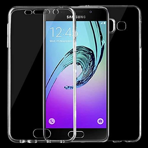 Nuevo for Galaxy A3 (2016) / A310 0.75 mm Funda protectora de TPU transparente ultradelgada de doble cara (transparente) Shiningxie (Color : Transparent)
