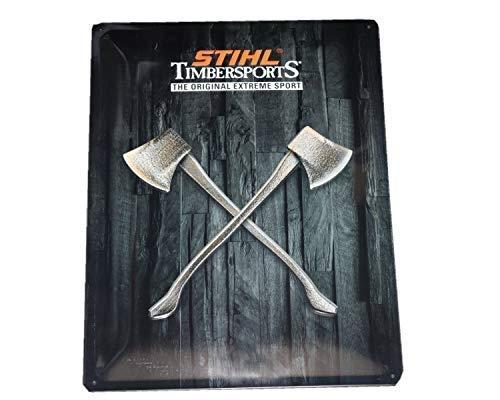 Stihl-Timbersports 04205600003 Blechschild