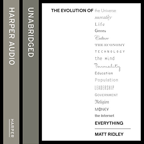 The Evolution of Everything: How Ideas Emerge audiobook cover art