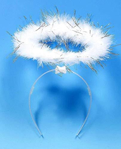 Weißer Engel Heiligenschein