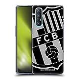 Head Case Designs Licenciado Oficialmente FC Barcelona De Gran tamaño 2017/18 Crest Carcasa de Gel de Silicona Compatible con OPPO Find X2 Neo 5G