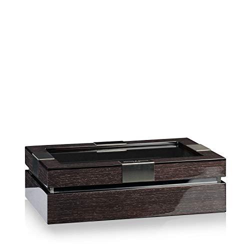 Heisse & Söhne Seit 1976® Uhrenbox Executive 10 Quercus/Schwarz