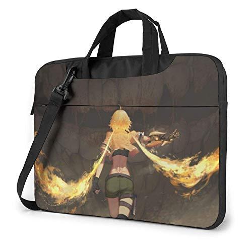 RWBY Anime Girl Laptop Sleeve Case Handheld One Shoulder Shoproof Oxford Protective Case/Notebook Computer Pocket Case
