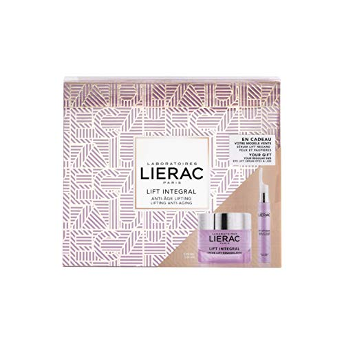 Lierac Lift Integral Cofanetto Regalo con Crema Antirughe Liftante 50 ml e Siero Contorno Occhi & Palpebre 15 ml