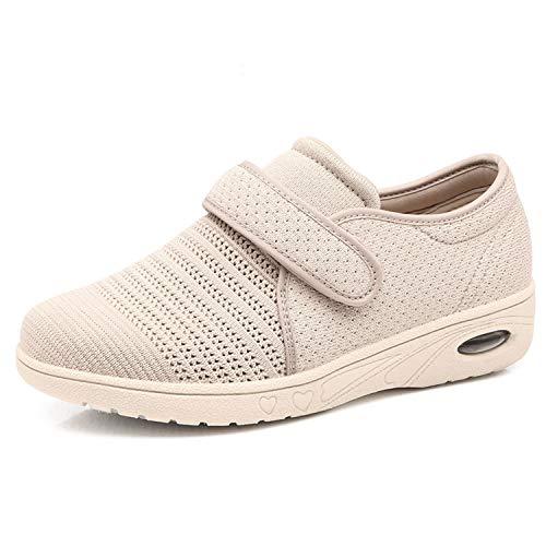ASEDRF Chaussures De Marche Grande Largeur des Femmes avec...