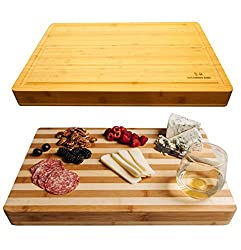 Sugarwood Home Reversible Cutting Board For Kitchen