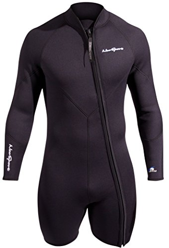NeoSport Men's Premium Neoprene 3mm Waterman Wetsuit Jacket, Large