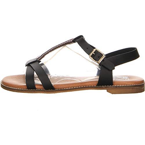 Kim Kay Damen Sandalen Sandale schwarz Gr. 39