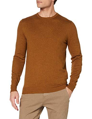 ESPRIT Herren 100EE2I302 Pullover, 259/BARK 5, L