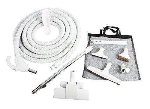 Cen-Tec Systems 94786 Central Vacuum Low Voltage Kit, 40 Ft. Hose, Light Gray