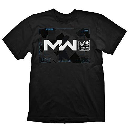 Shirtzshop - Camiseta de manga corta, diseño de Call of Duty Negro  L