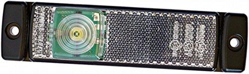 HELLA 2PG 008 645-561 Positionsleuchte - LED - 12V - Lichtscheibenfarbe: glasklar - Kabel: 500mm - Einbauort: vorne