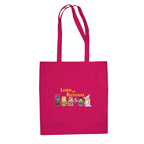 Planet Nerd Lord of Bananas - Stofftasche/Beutel, Farbe: pink