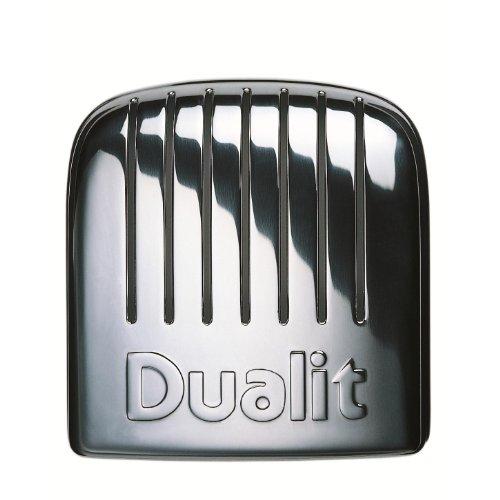 Dualit 40348 Grille-pain 4 tranches Gris anthracite métallique