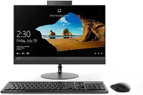 Lenovo IdeaCentre AIO 520 - Ordenador todo en uno (procesador Intel i3-7020U de 2,30 GHz, memoria RAM de 8 GB, SSD de 256 GB, Bluetooth, HDMI, webcam HD, Windows 10 Pro)