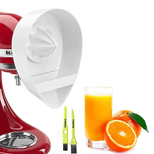 Italdos Exprimidor compatible para KitchenAid Accesorios Despresión Naranja Zumo de Frutas con Filtro de Separación Residui