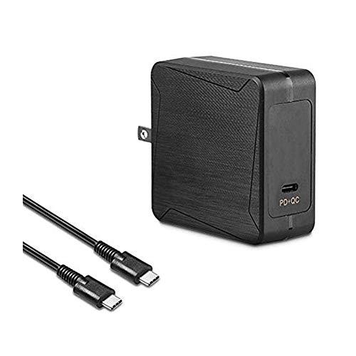 Adaptador de Pared Universal de 65 W Tipo C para HP/Acer/LG/Samsung Mate Book/Lenovo US/Can/Mex Solo se Utiliza en portátiles USB Tipo C