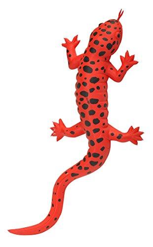 Wild Republic Rubber Red Salamander Toy Kids Gifts Amphibian 10Multi