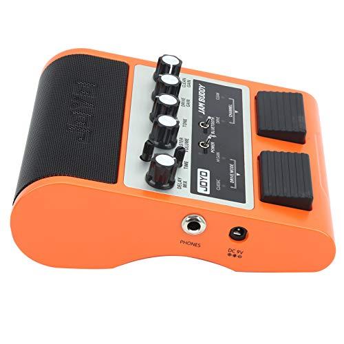 SUYANG Amplificador De Guitarra De Pedal Recargable para Accesorios De Instrumentos Bluetooth 100-240v 8Worange UK Enchufe
