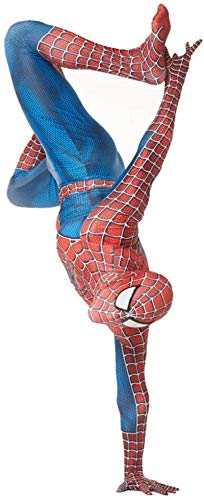 Role Play Conjoined Tights Spiderman Costumes Bodysuit Superhero Onesies Halloween Cosplay Zentai Movie Fans Apparel Children Performance Tight Jumpsuit Set