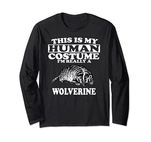 Este es mi disfraz humano soy realmente un lobo Manga Larga