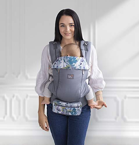 Love & Carry AIR X - Mochila portabebés ergonómica para bebé, ajustable y transpirable...
