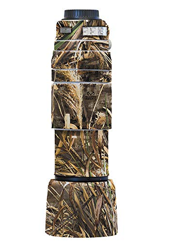 LensCoat Cover Camouflage Neoprene Camera Lens Cover Protection Canon 100-400 is II, Realtree Max5 (lc1004002m5)
