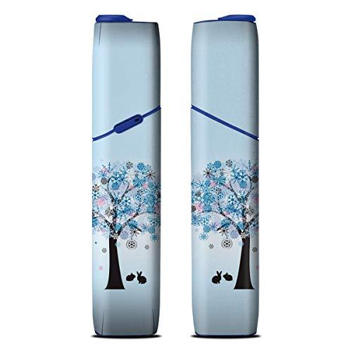iQOS3 MULTI アイコス3 マルチ 専用 花の木-冬 柄 スキンシール 妖精/クローバー/四季