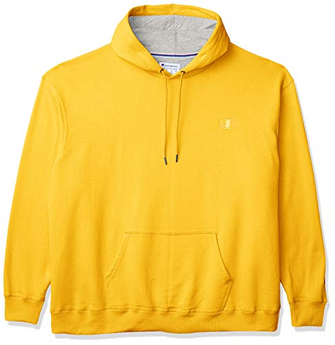 Champion Herren Powerblend Fleece Pullover Hoodie - Gold - XX-Large