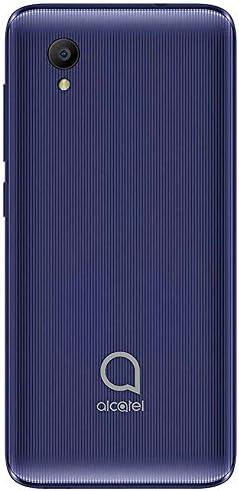 "Alcatel 1 (16GB) 5.0"" Full View Display, Removable Battery, FM Radio, Dual SIM GSM Unlocked US & Global 4G LTE International Version 5033E (Bluish Black) WeeklyReviewer"