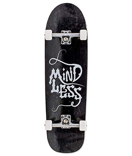 Mindless Longboards Gothic Longboard, Adultos Unisex, Black (Negro), 9.25 x 33.5