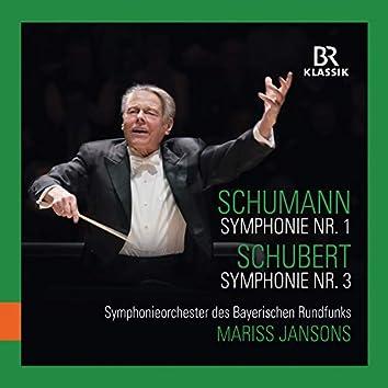 """R. Schumann: Symphony No. 1, Op. 38 """"Spring"""" - Schubert: Symphony No. 3, D. 200 (Live)"""