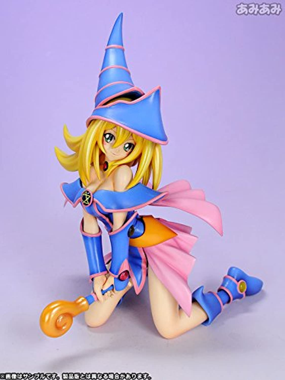 Anime Kotobukiya YuGiOh  Duel Monsters  Dark Magician Girl 1 8 PVC Figure Gift