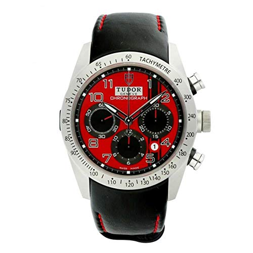 Tudor Fastrider Herren-Armbanduhr M42000D-0001 Chronograph, rotes Zifferblatt