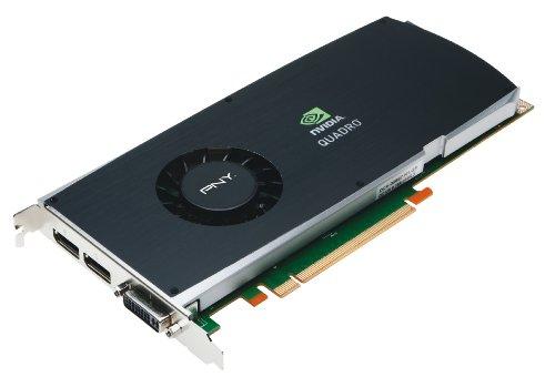 PNY  Quadro FX 3800 Grafikkarte (PCI-e, 1GB GDDR3 Speicher, 2X DP, 1x DVI-I (DL), SLI, 1 GPU)