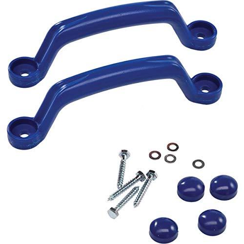 Demmelhuber Handgriffe Maja Spielturmzubehör Haltegriffe für Kletterturm (Blau)