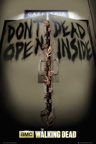 Walking Dead, The - Keep Out - Filmposter Kino Movie Zombie Gruselfilm - Grösse 61x91,5 cm