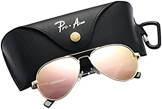 Pro Acme Small Polarized Aviator Sunglasses for Kids and...